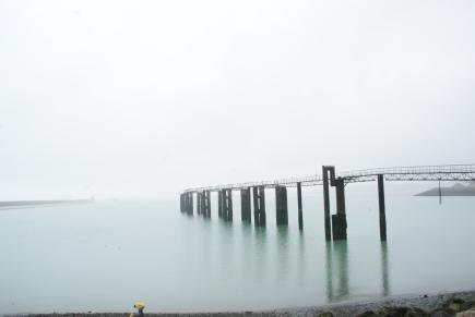 Ponton abandonné - Boulogne-sur-mer