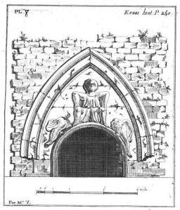 Relevé du tympan par J.F. Henry, 1810.