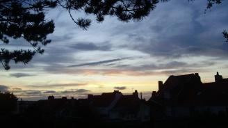 Ciel de coucher, Rue Charles GIDE Saint-Martin-lès-Boulogne.